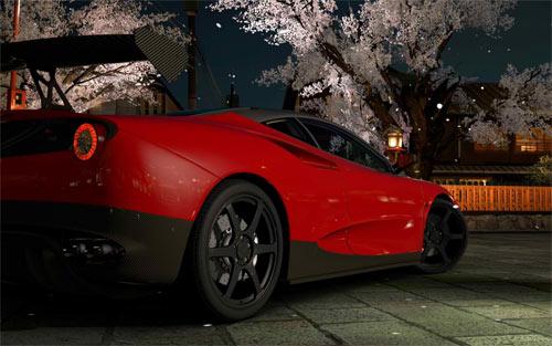 Ferrari SP1 wallpaper