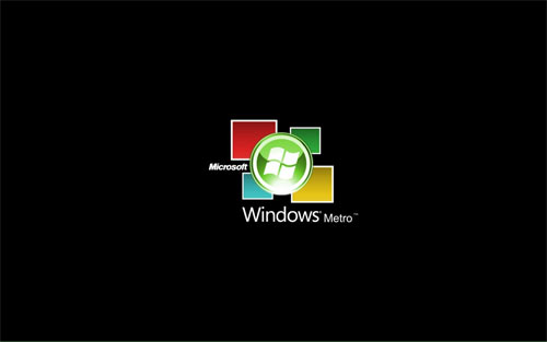 Windows Metro logo wallpapers