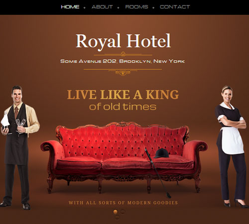 22 Premium Hotel And Resort HTML WordPress Templates