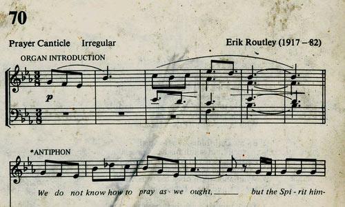 Hymns texture