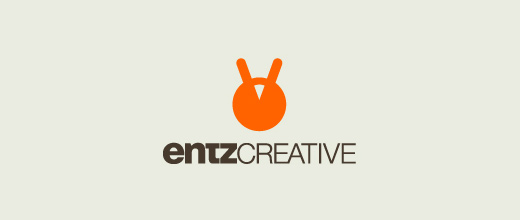Entz yellow head ant logo