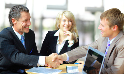 Interact with clients