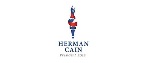 Herman Cain 2012 logo