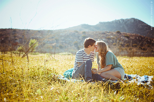 Young couple photography