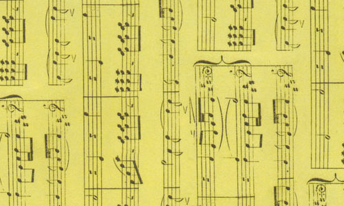 Cream Sheet Music texture