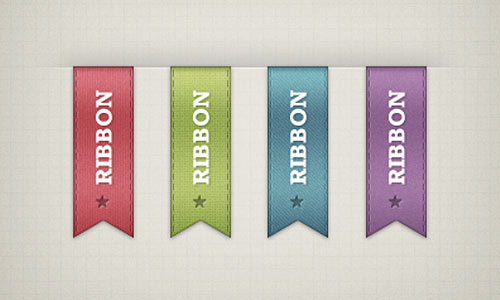 Vertical Ribbons - Freebie