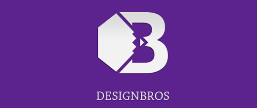 Pencil diamond purple violet logo