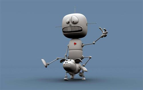 FUNNY ROBOTS wallpaper