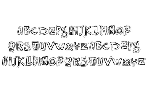 30 Free And Delightful Doodle Fonts
