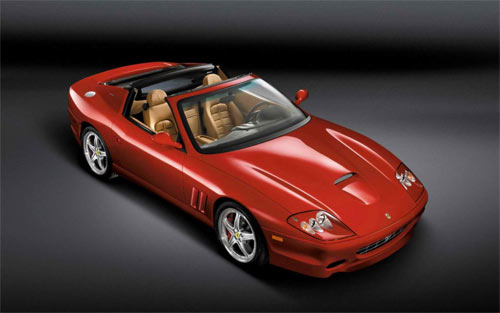 Ferrari-575 4 wallpaper