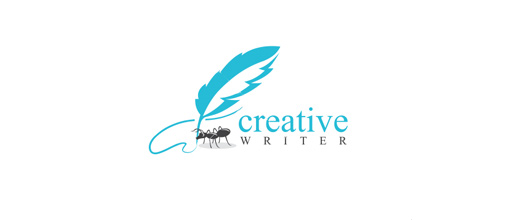 Writing ant logo
