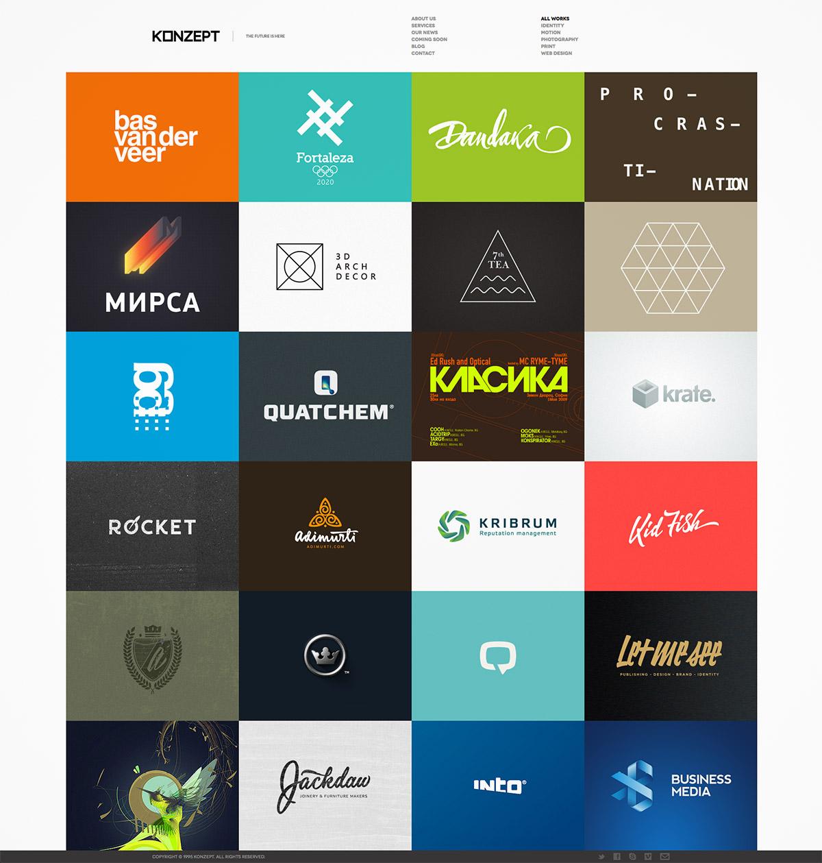 fullscreen portfolio theme