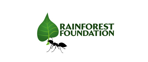 Leaf nature ant logo