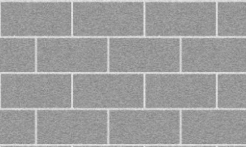 Grey white lining