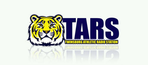 Radio station tiger logo