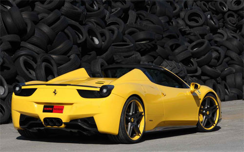 Ferrari 458 Spider wallpaper