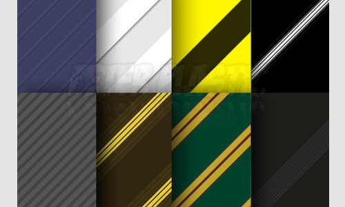 Beautiful seamless stripe photoshop pattern set