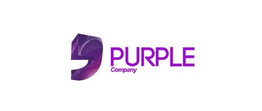comma company purple violet logo