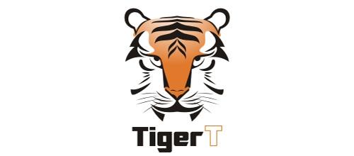 Face nice tiger logo