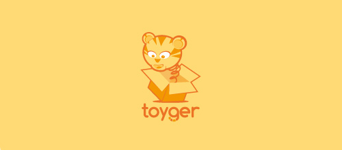Toy tiger logo