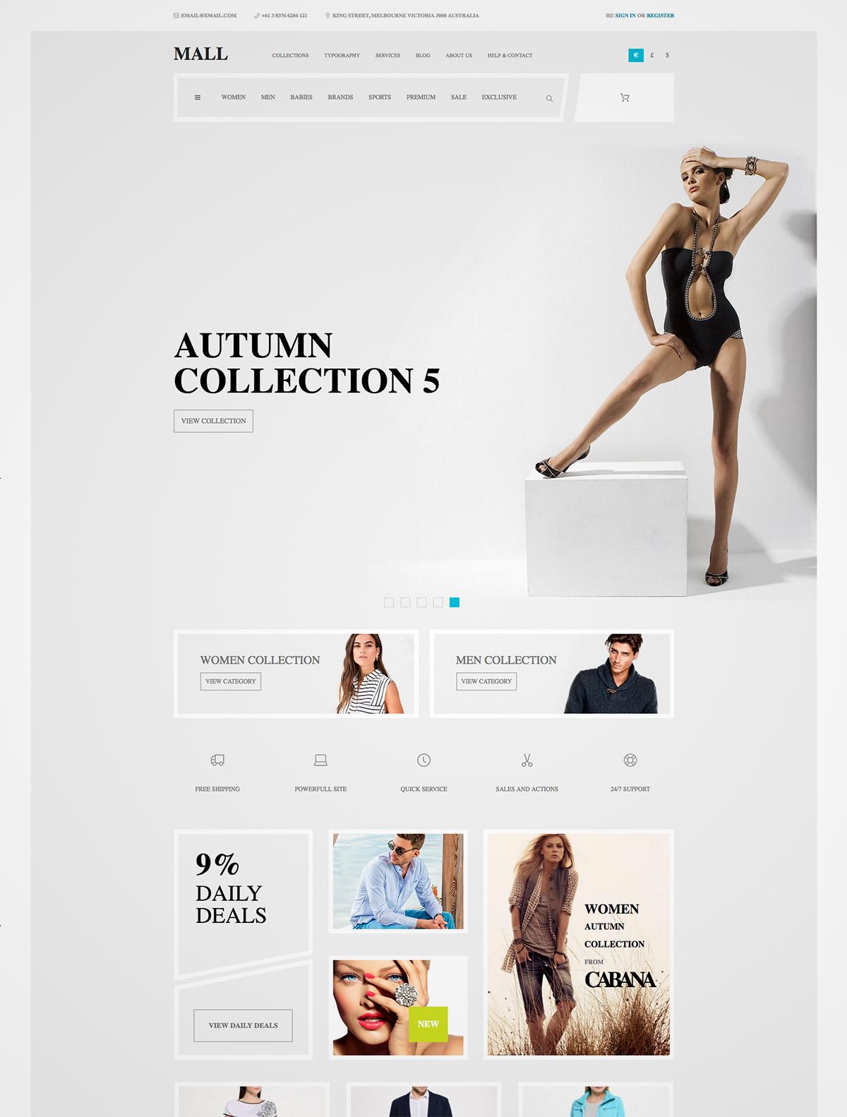 ecommerce multipurpose theme