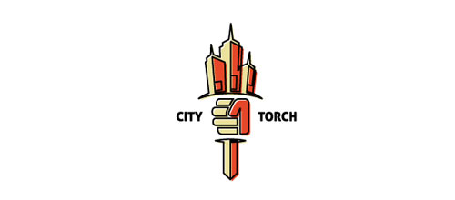 City Torch logo