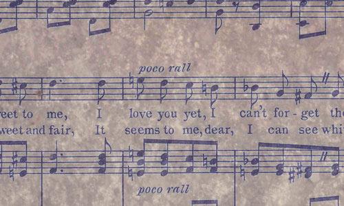 Music Sheet Texture