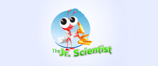 Scientist science ant logo