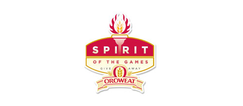 Oroweat Spirit of the Games Promotion logo