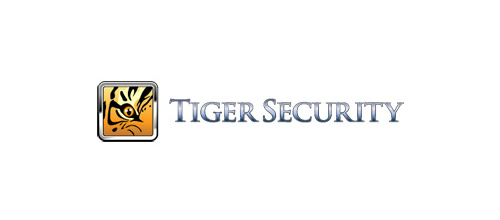 Security company tiger logo