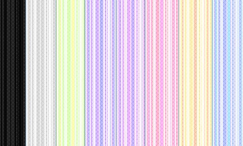 Colourful simple seamless stripe photoshop pattern set