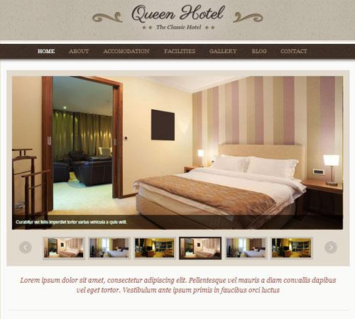 22 Premium Hotel and Resort HTML & WordPress Templates | Naldz Graphics