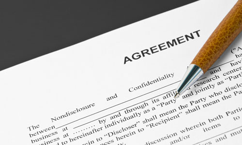 Have a freelance agreement