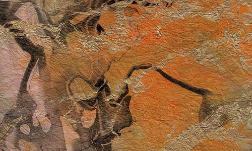 Paper orange abstract marble free hi res texture