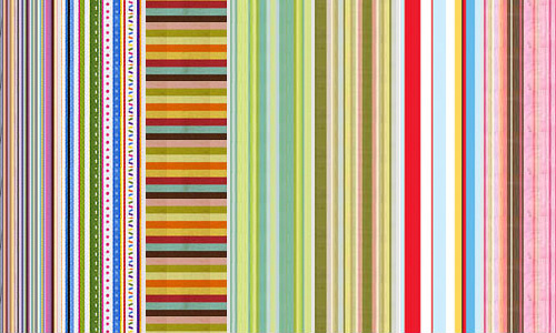 Colourful seamless stripe photoshop pattern set