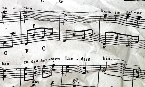 Musical sheet 02