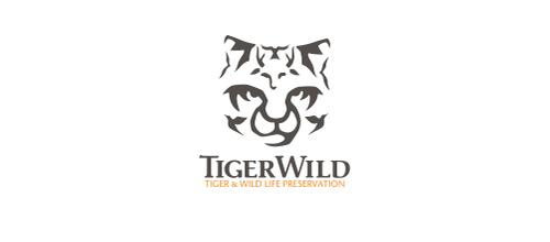 Wild life tiger logo