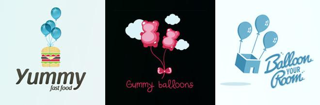 A Collection of Beautiful Balloon Logo Designs