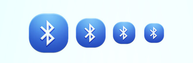 A Collection of Attractive Bluetooth Icon