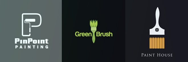 A Collection of Artistic Paint Brush Logo for your Inspiration