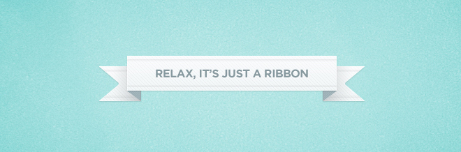 A Collection of Beautiful Free Ribbons PSD Files