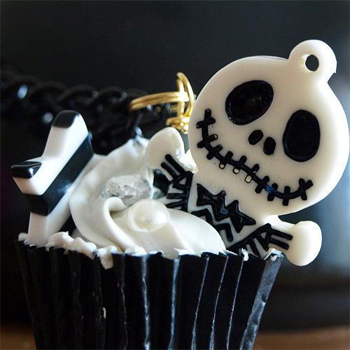 Jack skeleton cupcake design inspiration