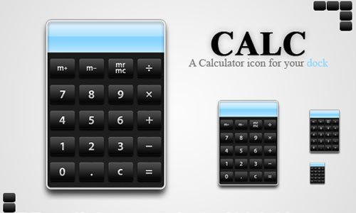 Calc - a Calculator Icon