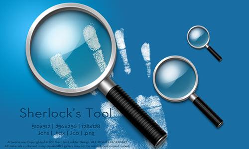Sherlock's Tool icons