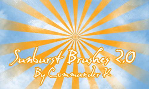 Sunburst Brushes 2.0