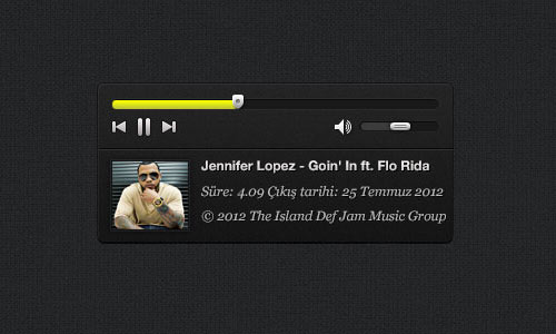 PSD compact music player