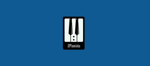 2Pianists logo