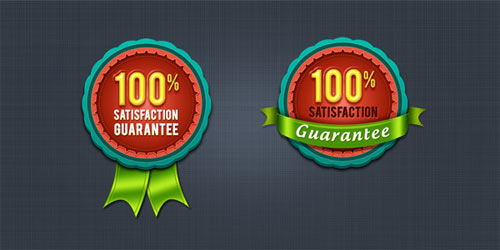 psd photoshop badges