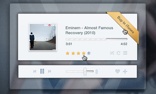 Music Player (PSD)