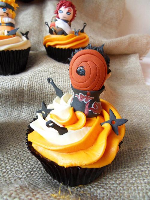 Tobi naruto cupcake design inspiration